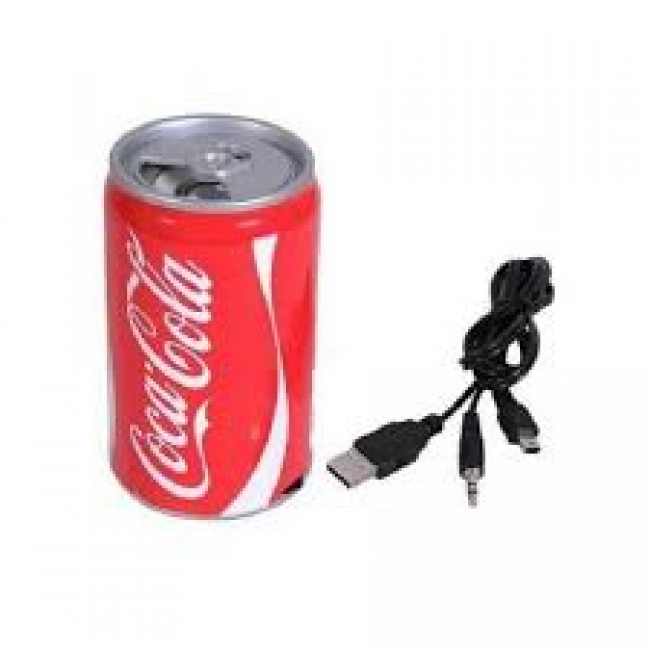 Coca Cola Can Design USB Speakers