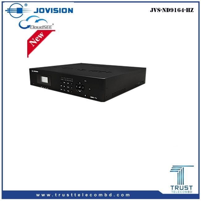 Jovision 64Ch 4K Regulation NVR JVS-ND9164-HZ
