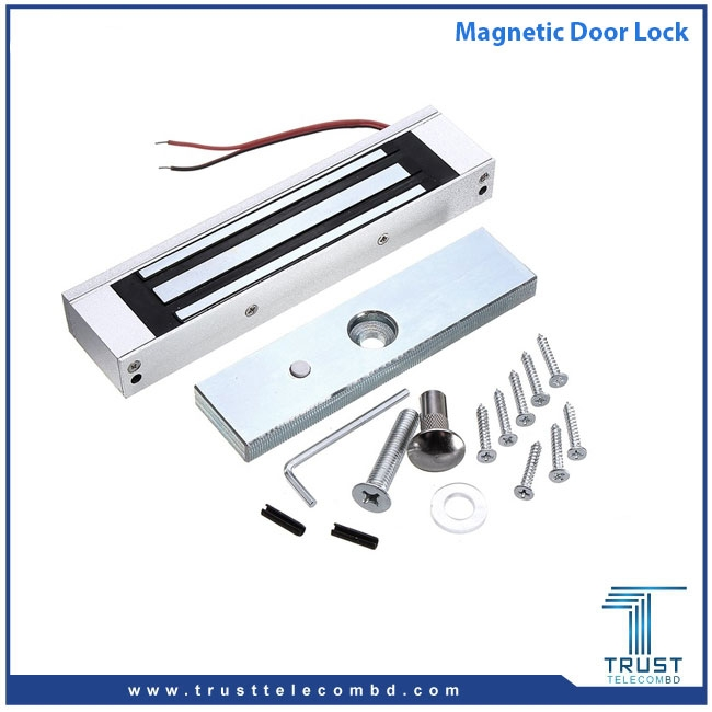 280 Kg Electromagnetic Magnetic Lock Set Gate Door In Bangladesh