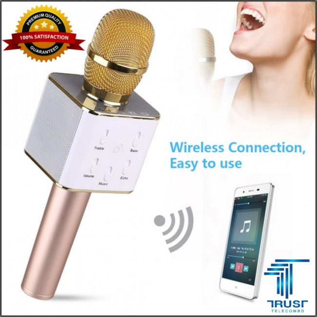 Karaoke Q7 Bluetooth Microphone