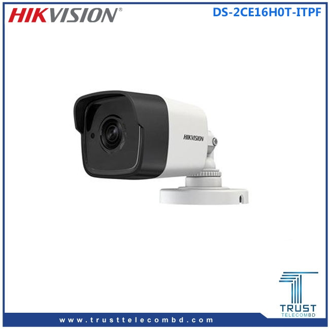 Hikvision 5 Megapixel 4 in 1 high-performance HD Camera DS-2CE16H0T-ITPF