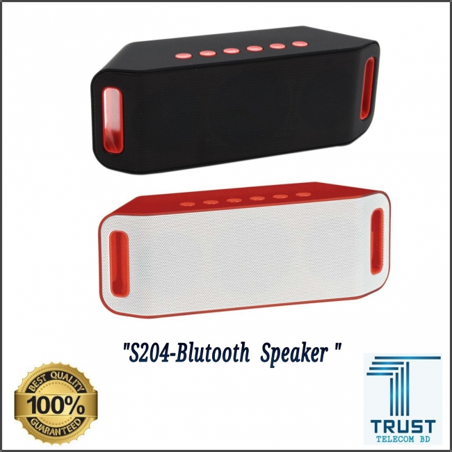 Portable Bluetooth Wireless Speaker S204