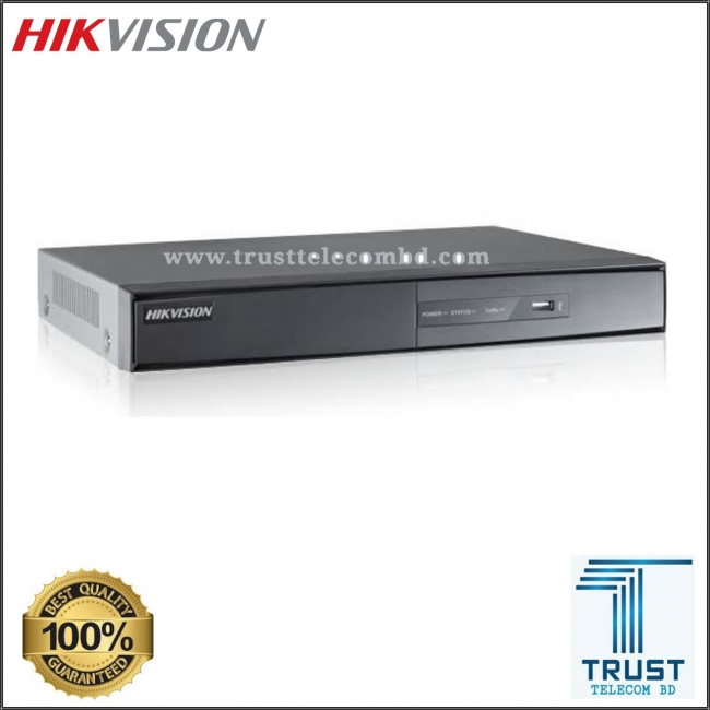 HIKVISION DS-7204HGHI-F1 4 CHANNEL DVR TRIBRID HDTVI