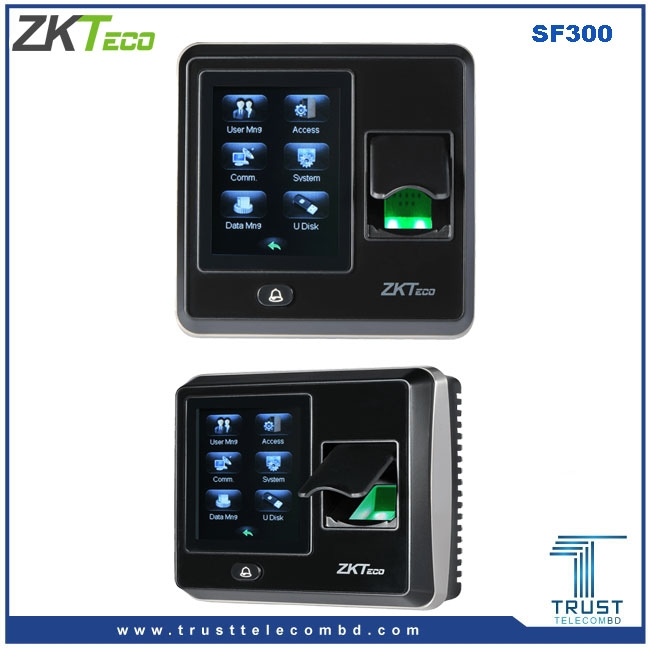 ZKTeco Access Control with Time Attendance
