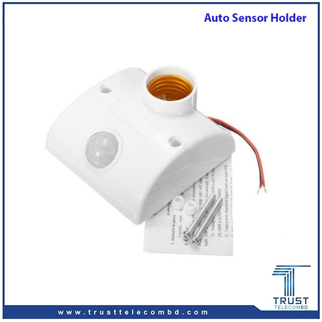 Auto Motion Sensor Infrared Light Holder
