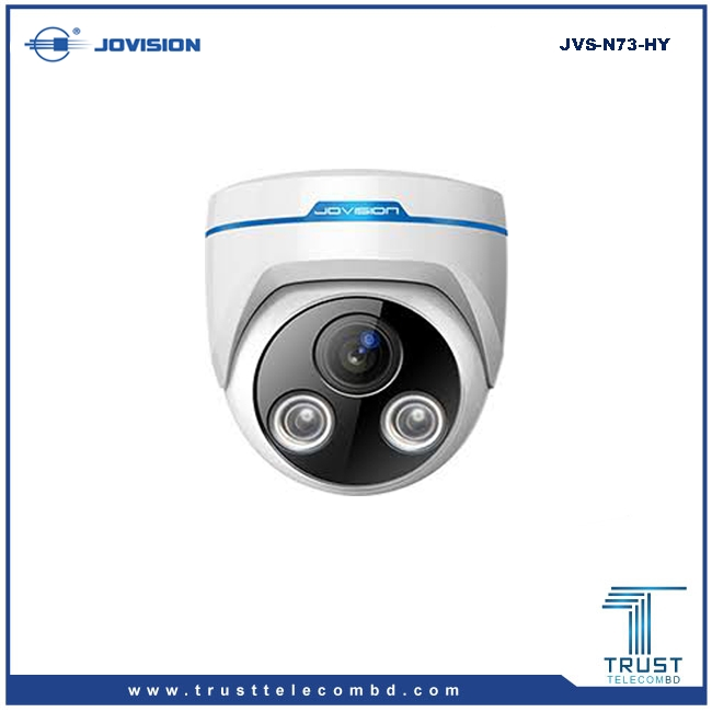 Jovision 1.3MP Dome Long IR Range 960P Cloudsee IP Camera JVS-N73-HY