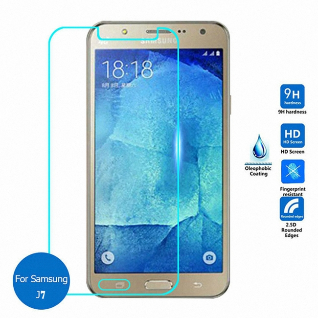 Samsung J7 Glass Protector (High Quality)
