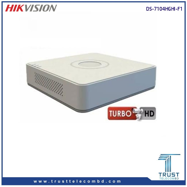 HIKVISION DS-7104HGHI-F1 4-CH Turbo HD DVR