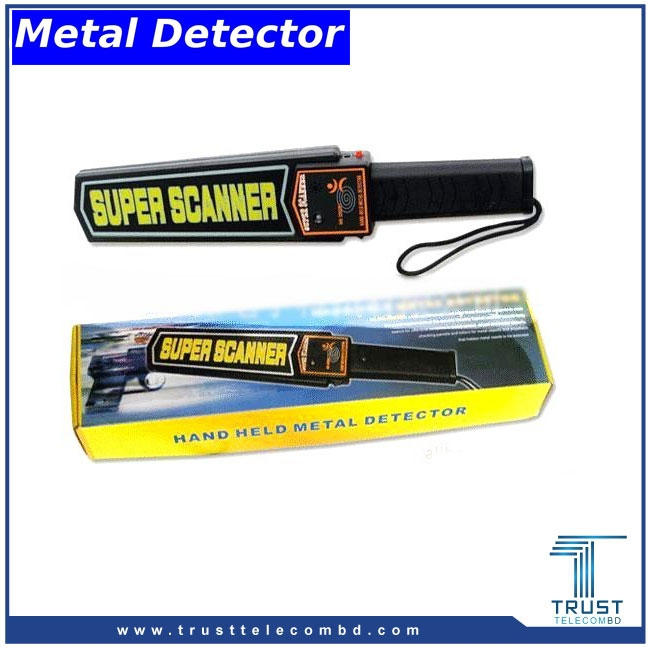 Hand Metal Detector with Battery