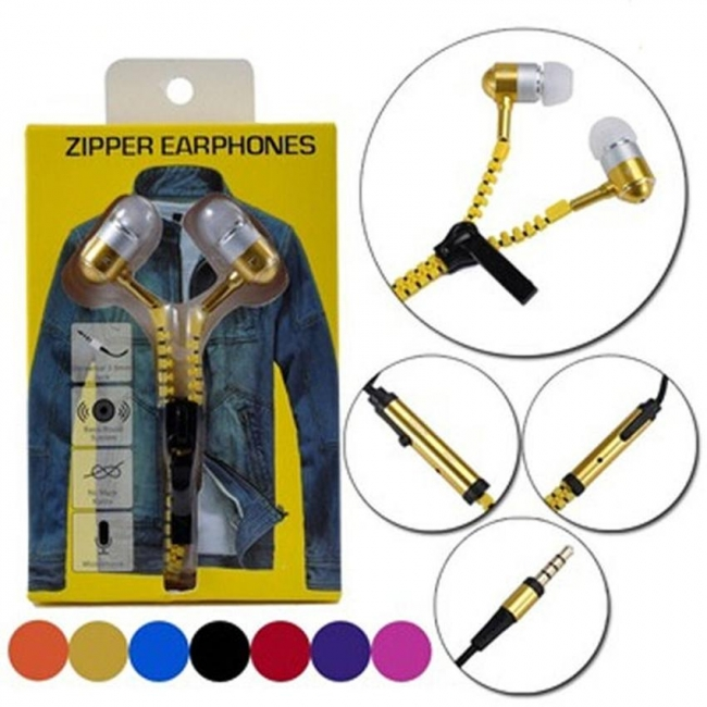 Exclusive Zipper Headphone