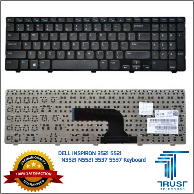 DELL INSPIRON 3521 5521 N3521 N5521 3537 5537 UK Version Keyboard