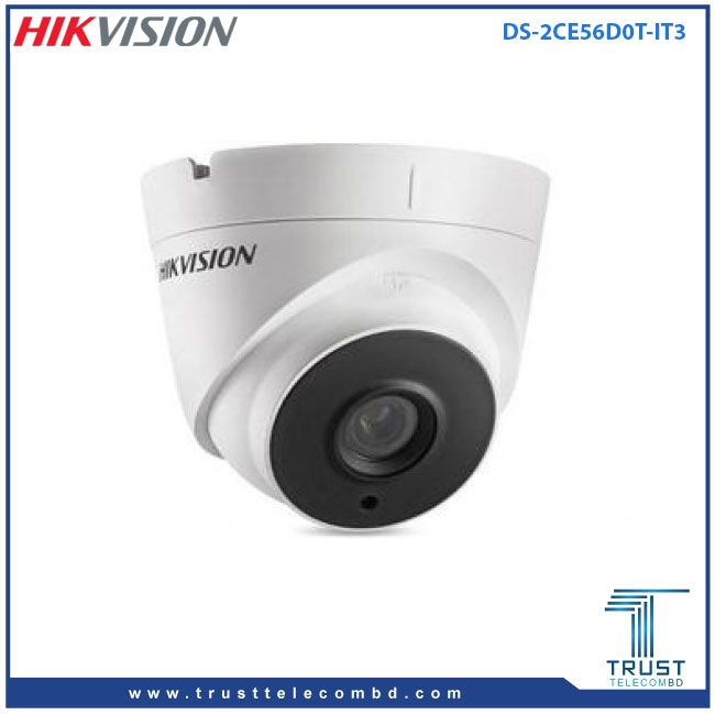 Hikvision DS-2CE56D0T-IT3 HD1080P EXIR Turret Camera