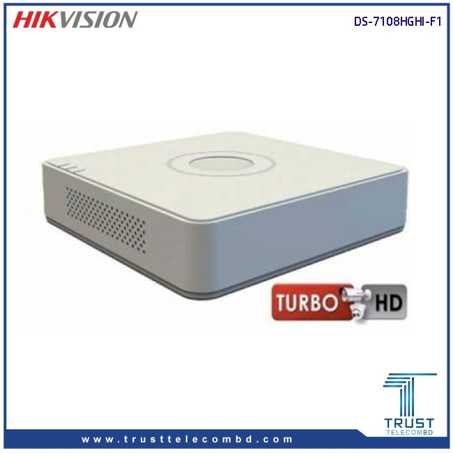 HIKVISION DS-7108HGHI-F1 8-CH Turbo HD DVR